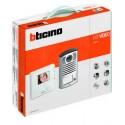 BTICINO KIT VIDEOCITOFONO 2F CLASSE 100 V12B + LINEA 2000 1F