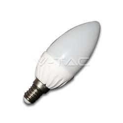 Lampada LED E14 Oliva 4W 2700°K VTAC