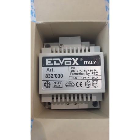 ELVOX 832/030 TRASFORMATORE ALIMENTATORE 30VA