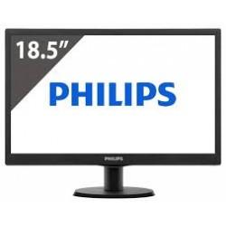 Philips 193V5LSB2/10 Monitor LED con SmartControl Lite V-line 47 cm, Nero Lucido